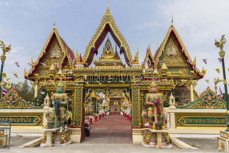 thailand samut sakhon entrance gate of