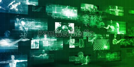 technology company background
