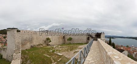 croatia dalmatia sibenik castle