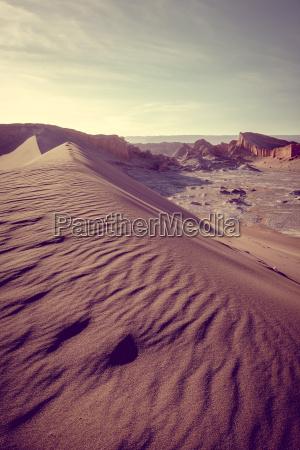 sand dunes in valle de la