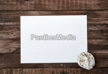 blank white sheet of paper on