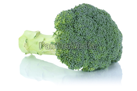 broccoli fresh vegetables cut out isolated