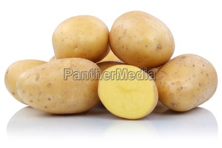 potatoes cut fresh vegetables cut out