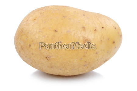 potato fresh vegetables cut out isolated