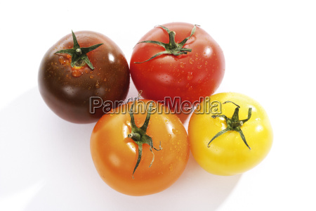 various sorts of tomatoes