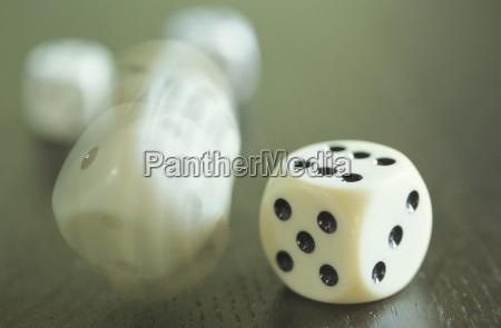 dice close up