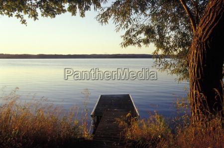 canada ontario jetty on lake