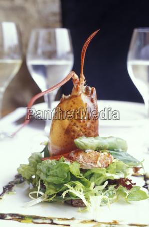 lobstersalad costa brava spain