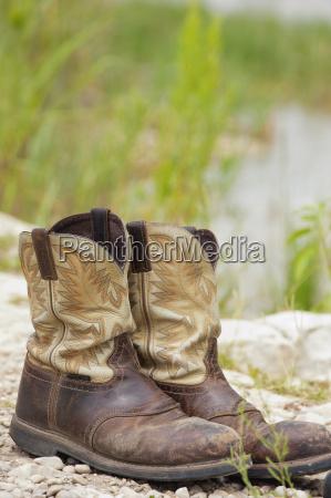 usa texas pair of boots at