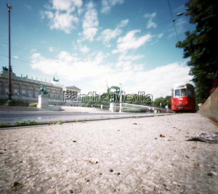 austria vienna streetcar