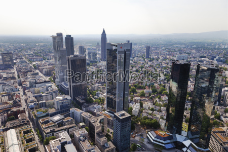 europe germany hesse frankfurt view of