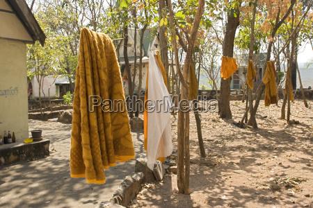 thailand nakhon ratchasima monk colony clothes