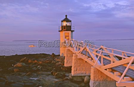 usa lighthouse of port clydemaine