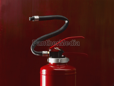 fire extinguisher close up