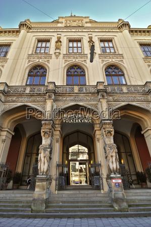 germany bavaria munich museum fuer voelkerkunde