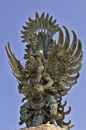 indonesia bali sculpture of hindu deity
