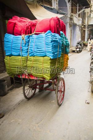 india amritsar colourful cotton textile on