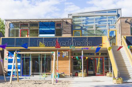 germany mecklenburg western pomerania kindergarten with
