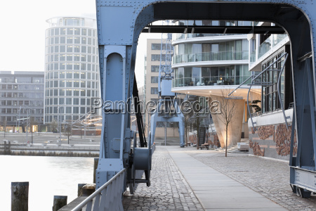 germany hamburg view of harbour and