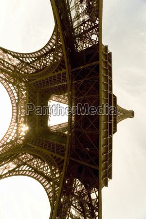 france paris eiffel tower view from