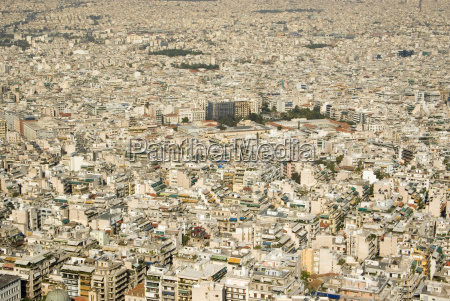 greece athens aerial view