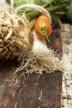 soup vegetables close up