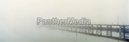 germany lake constance hagnau foggy landing