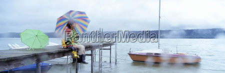 germany sipplingen lake constance mother and
