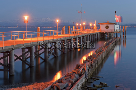 germany hagnau lake constance view of