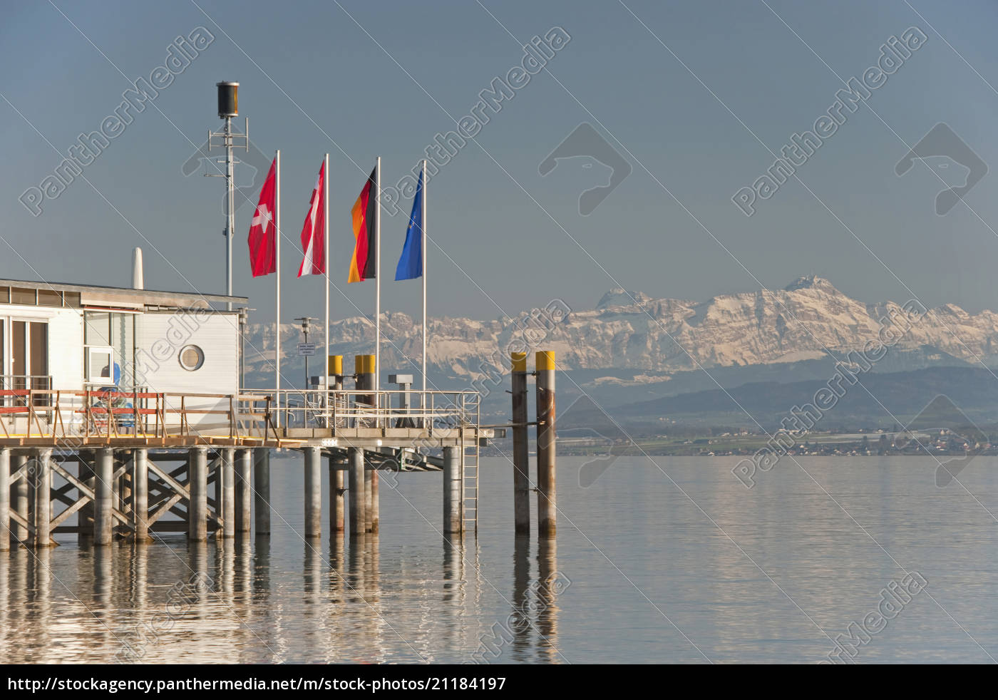 germany, , hagnau, , lake, constance, , view, of - 21184197
