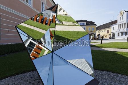 ciudad arte jardin reflexion austria al
