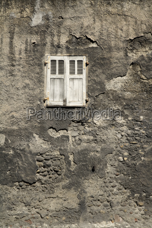 france white shutter window