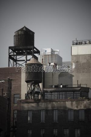 usa new york city manhattan water