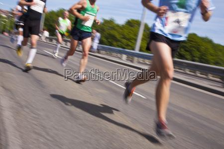 germany baden wurttemberg stuttgart runners in