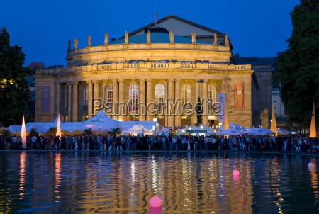 germany baden wuerttemberg stuttgart opera house