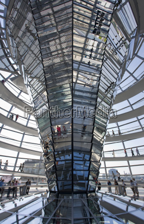 germany berlin reichstag building cupola low