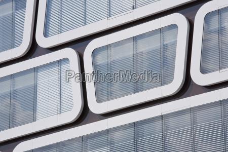 germany stuttgart office building glass front