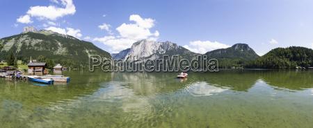 austria salzkammergut ausseerland altaussee view of