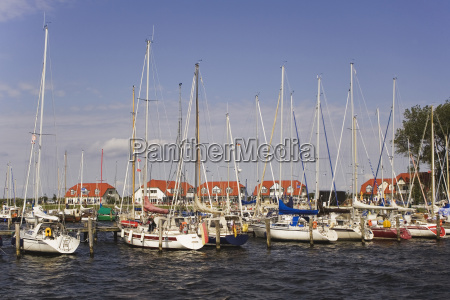 germany mecklenburg vorpommern rerik marina
