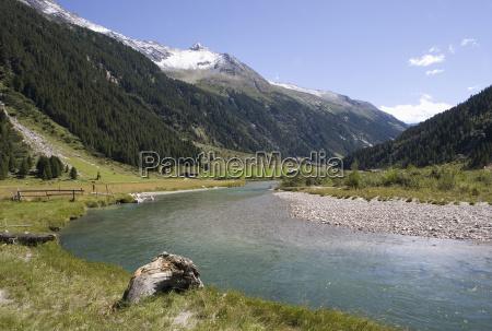 austria krimmler achental krimmler ache river