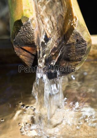 austria wildgerlostal valley fountain running water