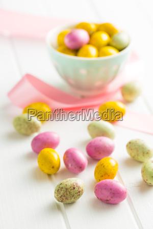 sweet easter eggs