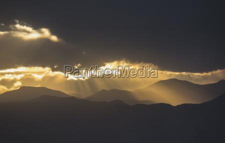 usa colorado denver dramatic sky with