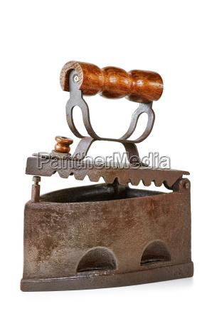 old smoothing iron
