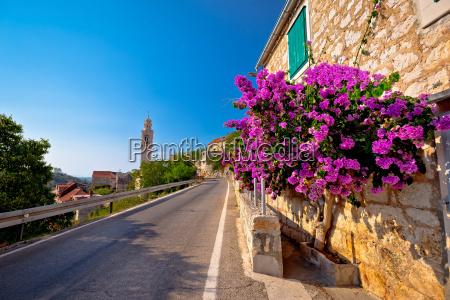 village of lozisca on brac island
