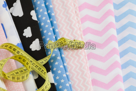 cotton fabric material and tailor measurement
