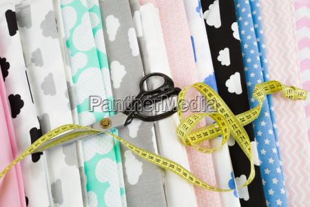 cotton fabric material tailor measurement tape