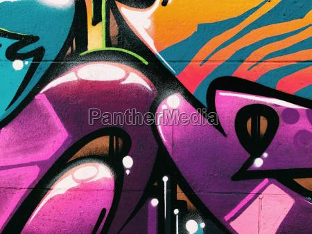 graffiti wall background urban street art