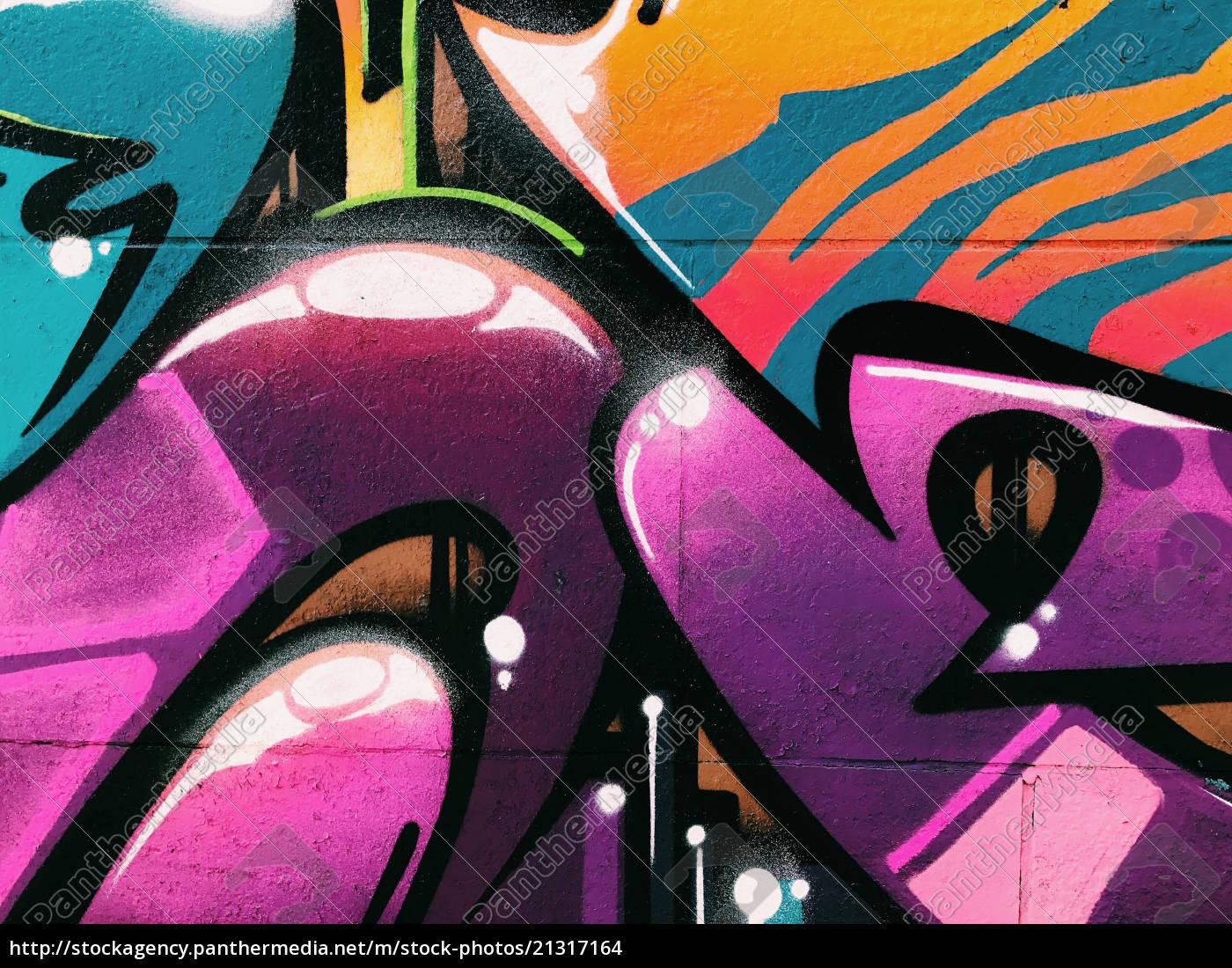 graffiti, wall, background., urban, street, art - 21317164