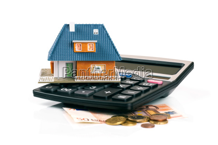 property tax and mortgage concept